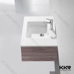 Bathroom Cabinet Artificial Stone Customized Wash Basin pictures & photos