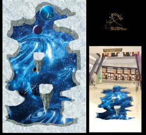 Interstellar Planet 3D Floor Sticker pictures & photos