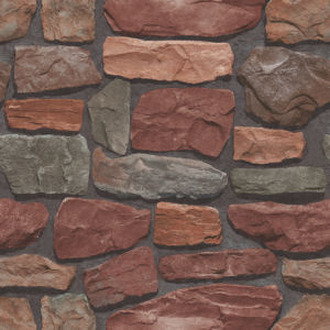 Best Selling Interior 3D Stone PVC Vinyl Wallpaper for Office / Hotel (S-20061) pictures & photos