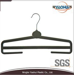 Women Plastic Trouser Hanger with Metal Hook (36cm) pictures & photos