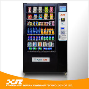 Combo Drink and Snack Vending Machine with GPRS and Cooling Units pictures & photos