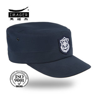 Dark Blue Fine Quality Police Cap pictures & photos