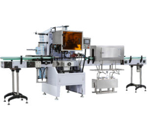 Automatic Sleeve Labeling Shrinking Line for Cigarettes and Wine pictures & photos