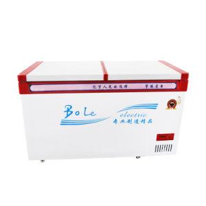 One Compressor Large Capacity Top Open Door Chest Freezer pictures & photos