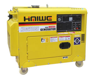 6000W Super Silent Portable Diesel Genset