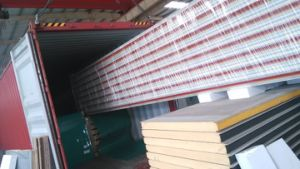 Polyurethane PU Sandwich Panel Building Material Sandwich Roof Panels pictures & photos