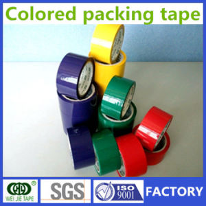 Weijie Customize Strong Adhesive Colored BOPP Packing Tape pictures & photos