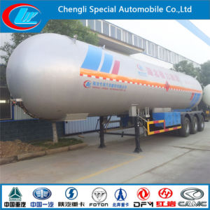 Hot Sale LPG Gas Tanks Trailer 60 Cbm LPG Tank Semi Trailers Bolivia Nigeria Market Asme Semi Trailer pictures & photos