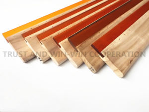PU Squeegee Rubber Blade with Different Edge pictures & photos