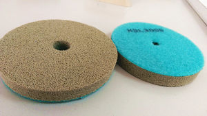 3 Inch Sponge Polishing Pad 2000 Grit Type2 Blue pictures & photos