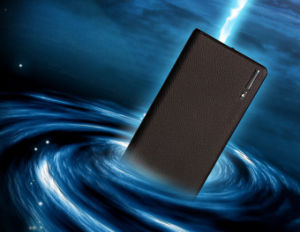 Wholesale Portable 20000mAh Mobile Power Bank with Two Output & LED Light pictures & photos