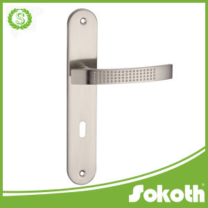Sokoth Classical Door Handle, Double on The Plate, Door Handle pictures & photos