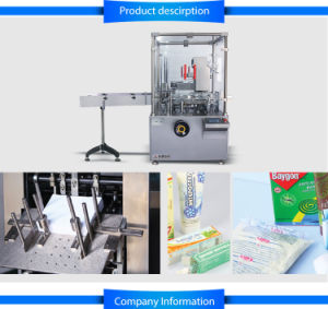 Automatic Soap Carton Machine