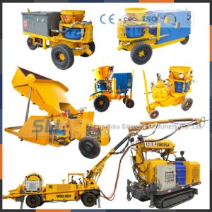 Anti-Explosion Pneumatic Mine Shotcrete Machine Application pictures & photos