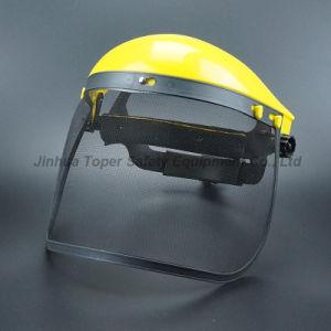 Wheel Ratchet Suspension Wire Mesh Visor Face Shield (FS4014) pictures & photos