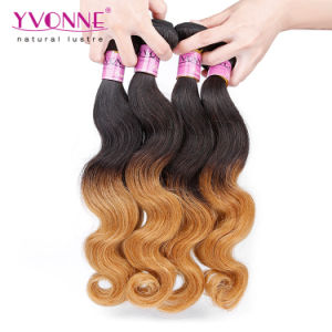 2016 New Arrival Peruvian Ombre Human Hair Extension pictures & photos