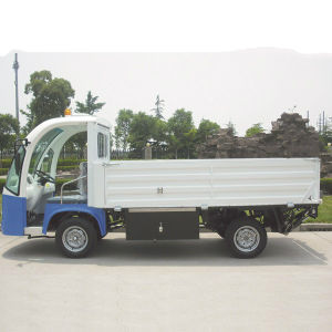 2 Seater CE Approved Electric Hopper Truck for Farm (DT-6) pictures & photos