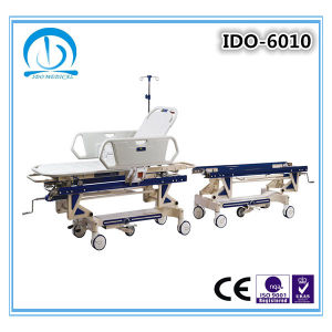Ce ISO Approved Patient Transport Trolley pictures & photos