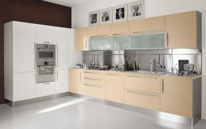 Kitchen Cabinet Pantry Design Mini Wood Kitchen Cabinet pictures & photos