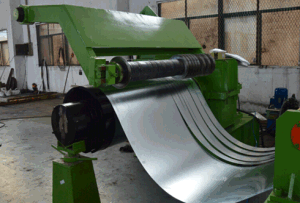 0.25 - 1.5mm Thick 5 Ton Hydraulic Decoiler Cut-to-Length Line Slitting Machine pictures & photos