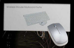 New 2.4G Wireless Mini Scissor Mute Computer Mouse and Keyboard pictures & photos