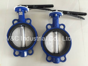 API609 Lever Wafer Butterfly Valve with EPDM Seal
