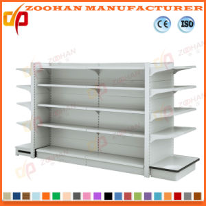 High Quality Corner Display Supermarket Stand Shelf (ZHs650) pictures & photos