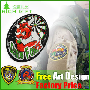 Custom Animal/Cartoon Pattern Design Embroidered Badge for Kids pictures & photos