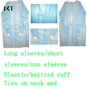 Disposable SMS Non Woven Surgical Gown Manufacturer Kxt-Sg21 pictures & photos