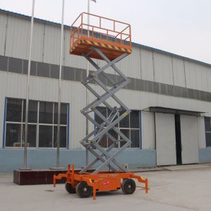 Good Quality Hydraulic Electric Aerial Work Platform Scissor Lift Platform pictures & photos