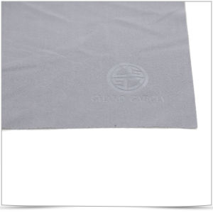 Hot Stamping Microfiber Cleaning Cloth pictures & photos