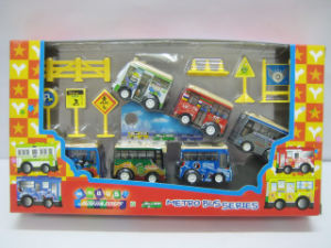 Mini Car Promotion Gift Toy Cartoon Cars Mini Bus (2818) pictures & photos