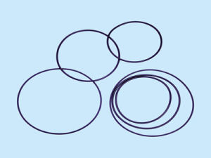 Customize High Precision Seal O Ring/Small Rubber O Rings/Silicone Rubber O Ring pictures & photos