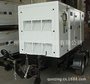 225kVA/180kw Water Cooling Mobile Diesel Soundproof Trailer Generator Set with Yto