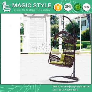 Simple Wicker Swing Chair Outdoor Patio Hammock (Magic Style) pictures & photos