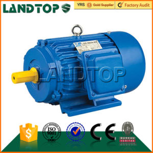 LANDTOP AC three phase asynchronous 10HP electric motor price China pictures & photos