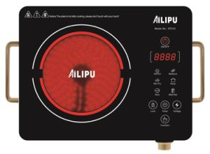 Most Popular Infrared Cooker/Ceramic Hob with Aluminium Body pictures & photos