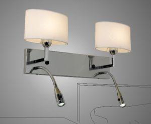Modern LED Wall Lamp with Cloth Shade