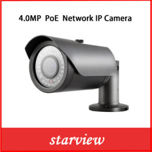 Outdoor 4MP Poe IP Network CCTV Waterproof Security Camera pictures & photos