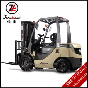Jeakue German Quality 2t and 2.5t Diesel Forklift Truck Price pictures & photos