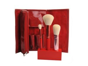 Red Color Cosmetic Makeup Brush Set Beauty Tool pictures & photos