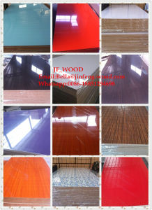 High Glossy UV Coated MDF Board/Melamine MDF Board pictures & photos