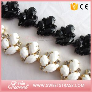Cup Chain Shiny Clear Crystal Cup Chain Jewelry Rhinestone Sew on Technics pictures & photos