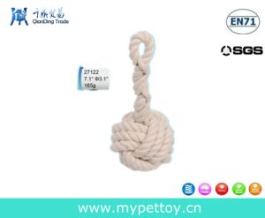 Roped Ball Dental Tug Dog Toy pictures & photos