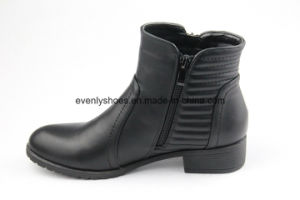 Comfortable Casual Style Ankle Lady Boots pictures & photos