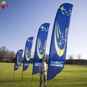 Digital Printed Advertising Blade Bow Flag pictures & photos