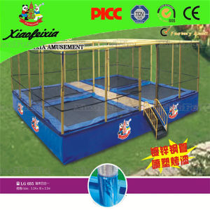 4 Bed Trampoline for Sales pictures & photos