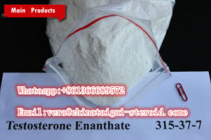 Injectble Raw Steroid Powders 250mg/Ml Muscle and Strength Gain Testosterone Enanthate pictures & photos