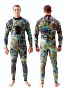 Men′s 2/3mm Neoprene Long Sleeve Wetsuit (HX-L0122) pictures & photos