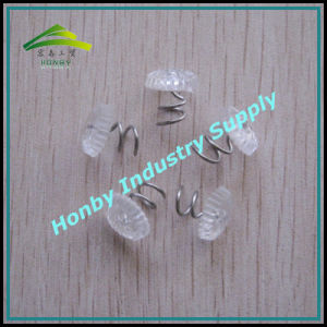 Honby Strong Hold Nickel Plated Steel Twist/Spiral Shaft Pins (P160719A)